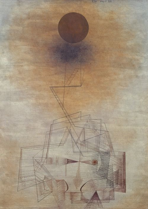 Paul Klee - The Bounds of the Intellect (1927) | Art ...