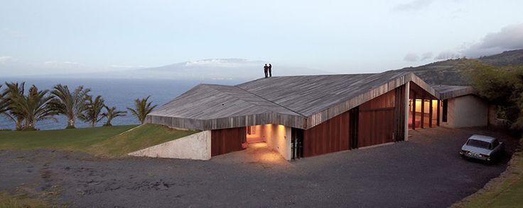 Clifftop house by dekleva gregoric architekti, Maui - Hawaii