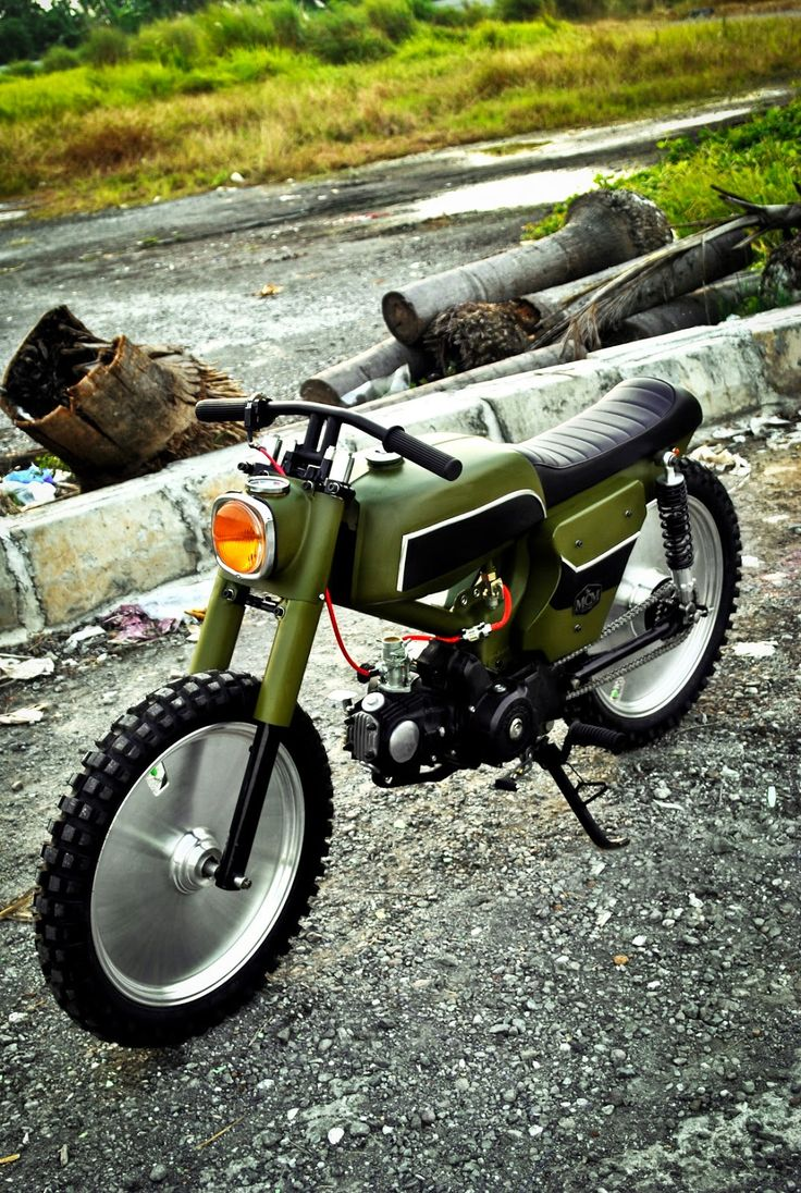 Honda C70 by MCM - Looks like a LEGO motorcycle