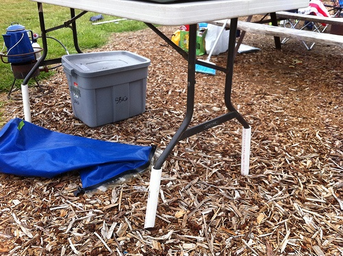Make A Side Table Taller: How To Make A Folding Table Taller