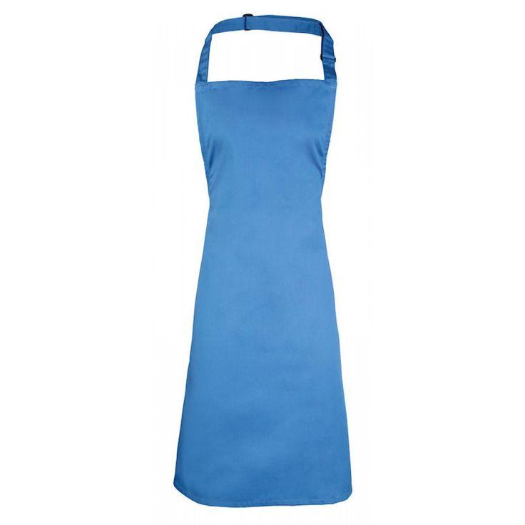 Basis schort saffier blauw