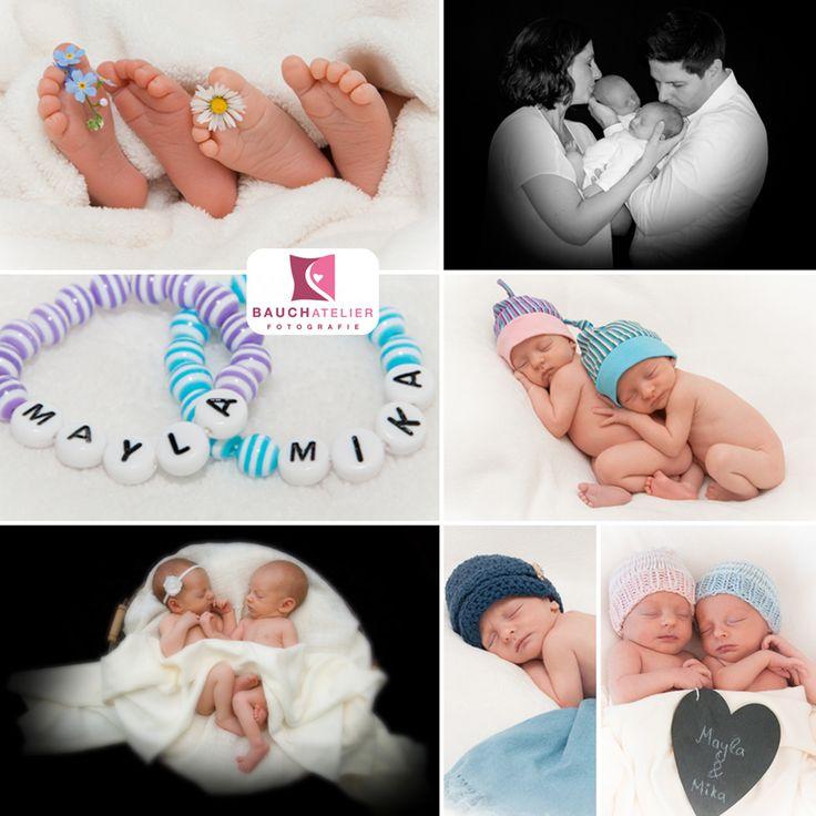 Neugeborenenfotografie Babyfotografie Zwilling in Olpe von Silvia Radau