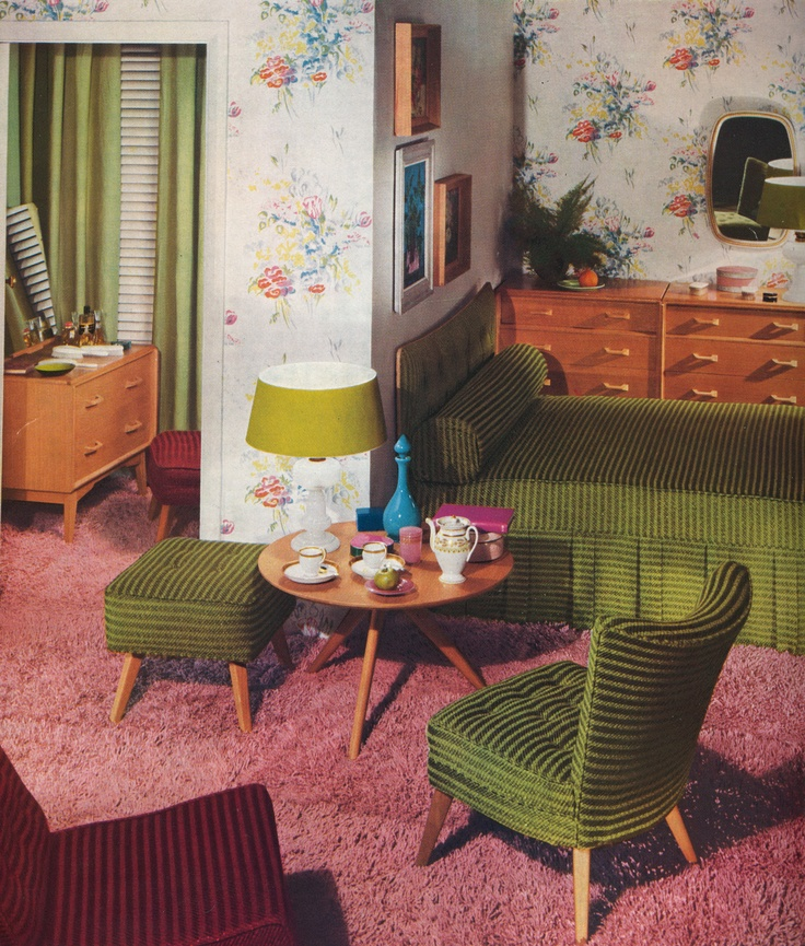 1000+ Images About Decor In The 1950s On Pinterest