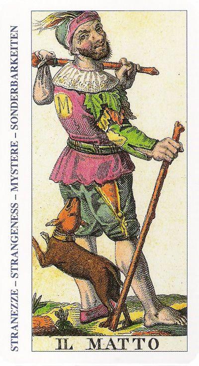 22-Cartas de Tarot - El Loco-Tarot, Astrología, Horóscopos, Metirta