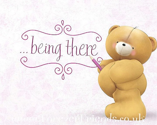 Forever Friends  by Hallmark_UK, via Flickr.  Thanks to my BFF for always being there for me.