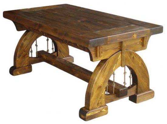 Состаренная мебель из сосны