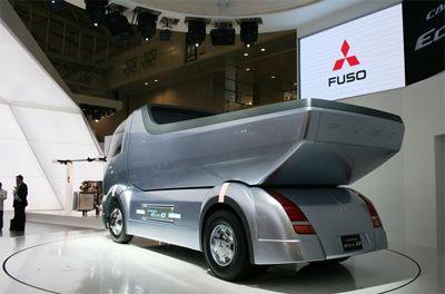 mitsubishi dump truck concept