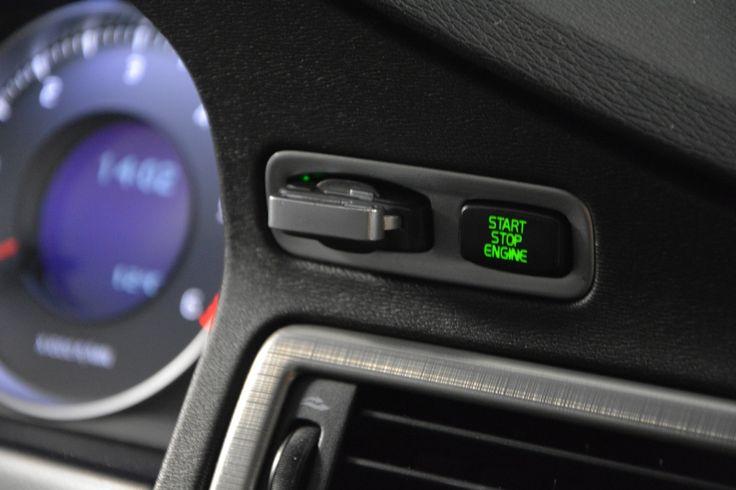 Volvo V70 start-stop button