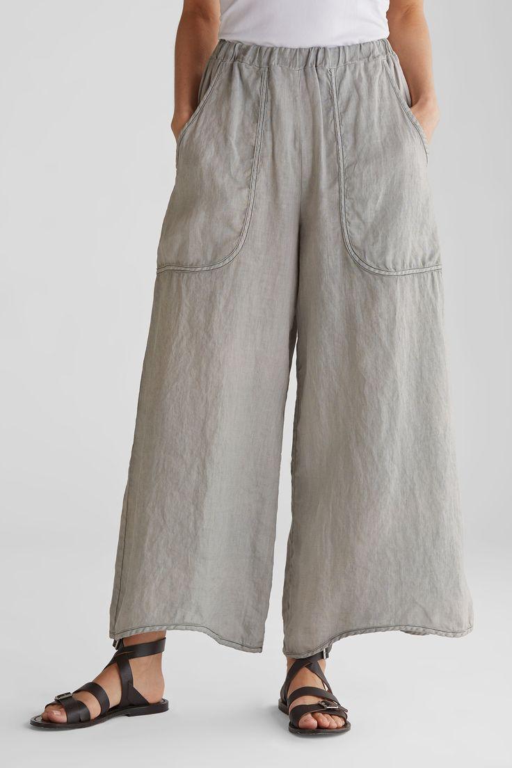Vacation Pant: Cynthia Ashby: Linen Pant | Artful Home