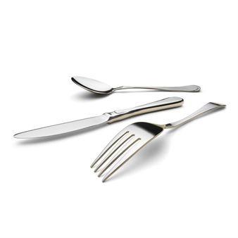 Carina cutlery 24 pcs - stainless steel - HardangerBestikk