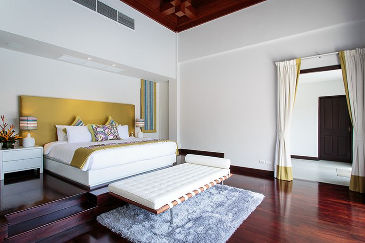 master bedroom @ villa 78 phuket