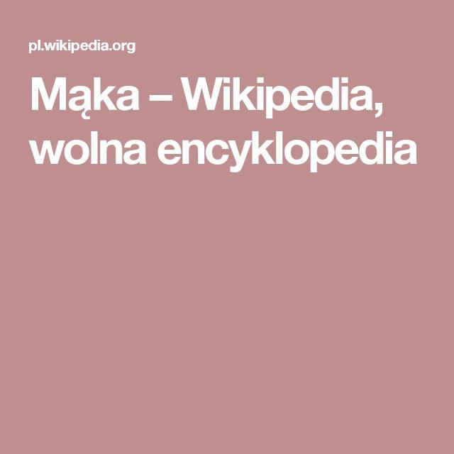 Mąka – Wikipedia, wolna encyklopedia