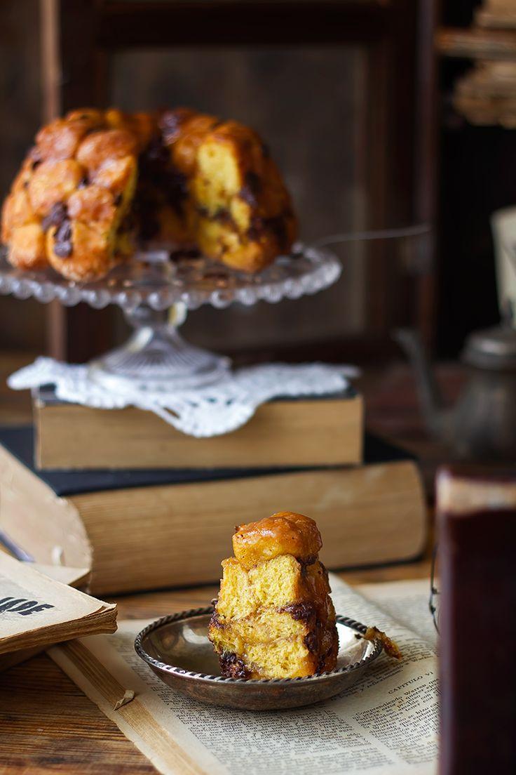 Kanela y Limón: Monkey bread de calabaza y chips de chocolate {translate}