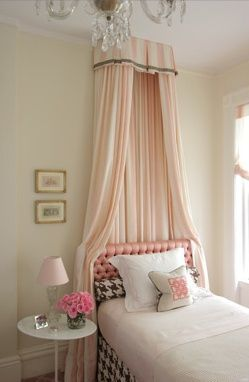 Diy Headboard Ideas U Creative Ways To Use Curtains As Headboard  Crownlittle With Diy Bed Crown Canopy