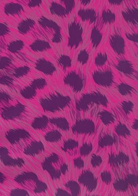 Animal Print Leopard Pink and Purple Wallpaper
