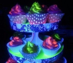 43 best Glow in the dark party images on Pinterest Birthday