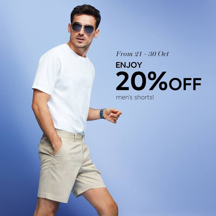 21-30 Oct 2016: Marks & Spencer Men's Shorts Promotion