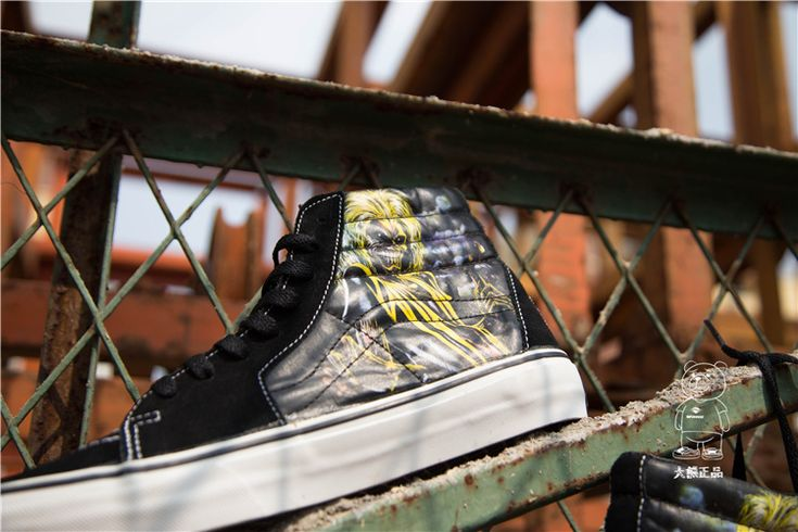 Fans / Vans iron maiden Sk8-hi iron lady band joint version of the high help board shoes 36--4412 #Vans
