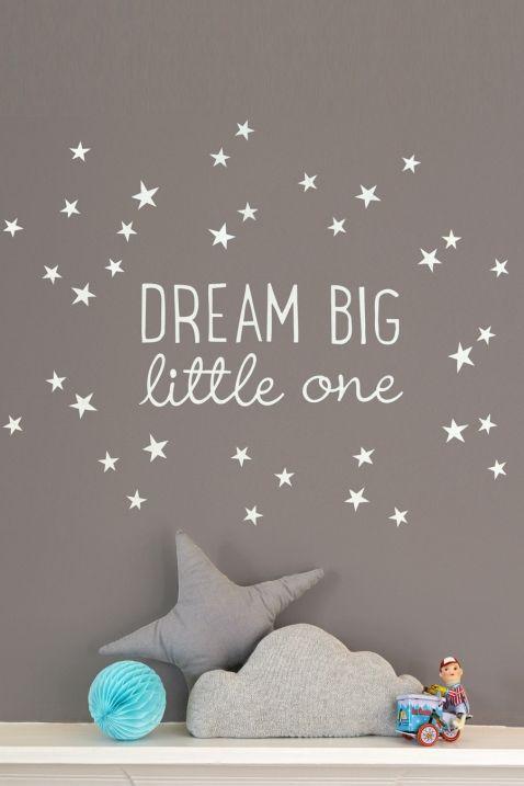 Wandsticker Dream Big Little One