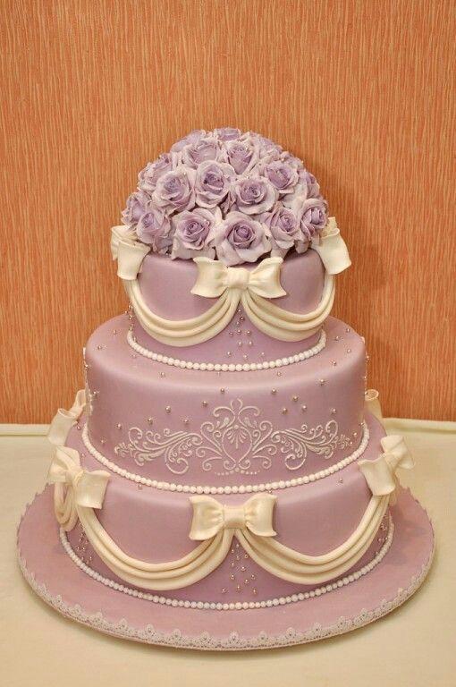 """Свадебный торт """"Букет роз"""""""