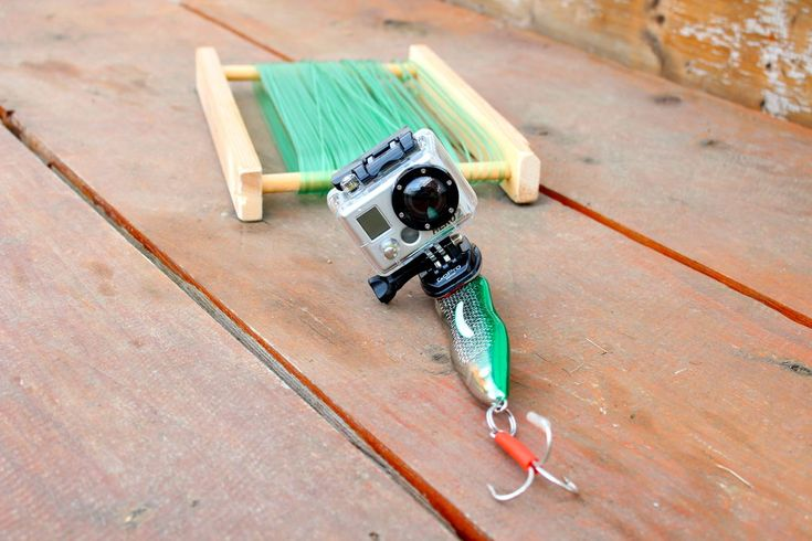 GoPro Fish Cam! Cool idea - would not want to lose the camera in the water though!