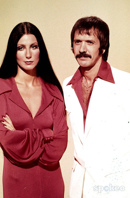 Sonny and Cher - loved her long, straight, glossy hair.