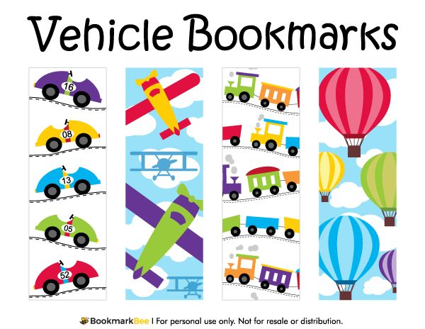Best Printable Bookmarks At BookmarkbeeCom Images On