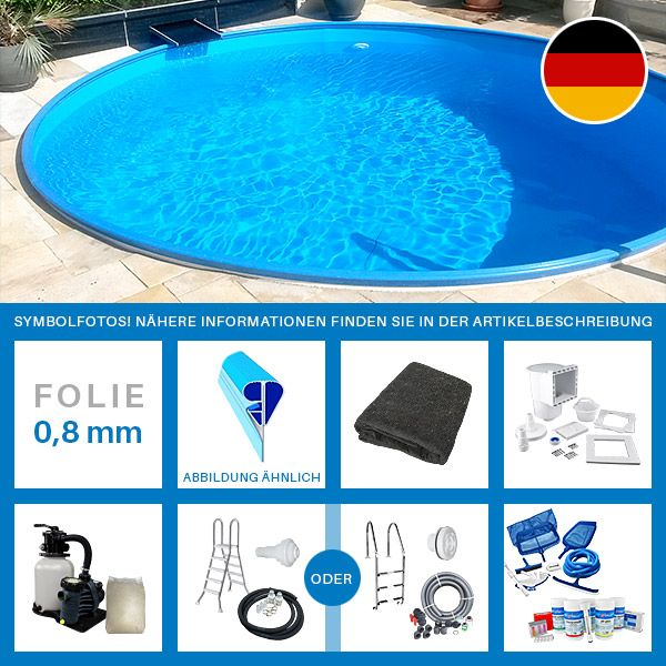 Hervorragend 1000+ ideas about Stahlwandpool Komplettset on Pinterest  RJ94