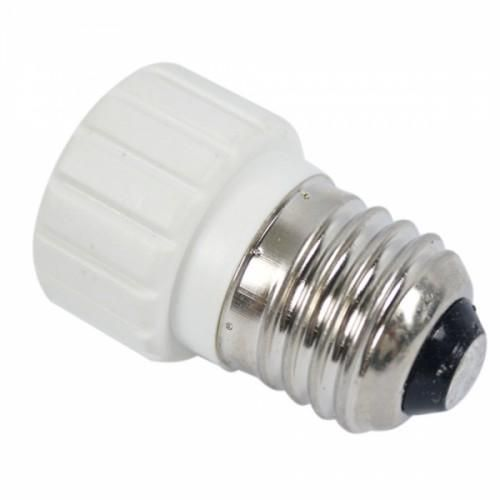 Supposing you want to use an LED light (or other), but your socket is E27. This product is the solution to your problem! Just screw it in, and it adapts your socket to GU10 so you can use LED, halogen, filament, or CFL light bulbs. It's easy and convenient to install and use.