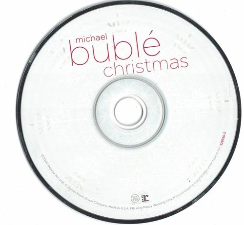 Michael Buble Christmas 2015 CD Professionally Cleaned