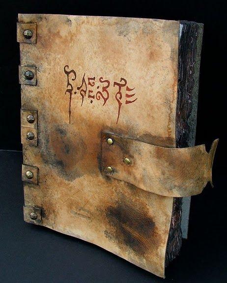 Necronomicon Book of the Primal Demons by MrZarono.deviantart.com on @deviantART