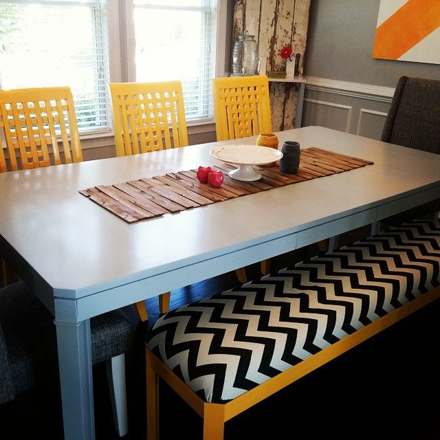 Easy diy table runner cost less than 10 to make art for Easy diy table runner