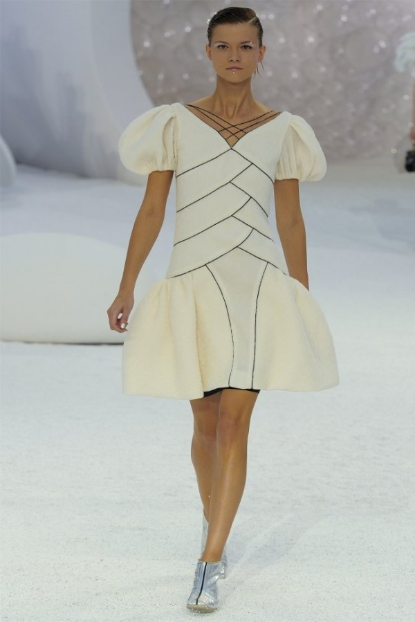 More inspiration for Sara Mearns's look in A Dancer Dream, this time from Chanel's 2012 ready-to-wear line.
