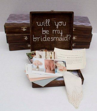 84 best Will you be my Bridesmaid? images on Pinterest | Bridesmaids ...