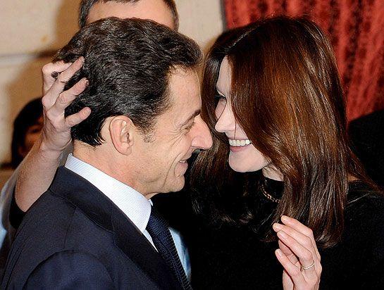 Carla Bruni & Nicolas Sarkozy