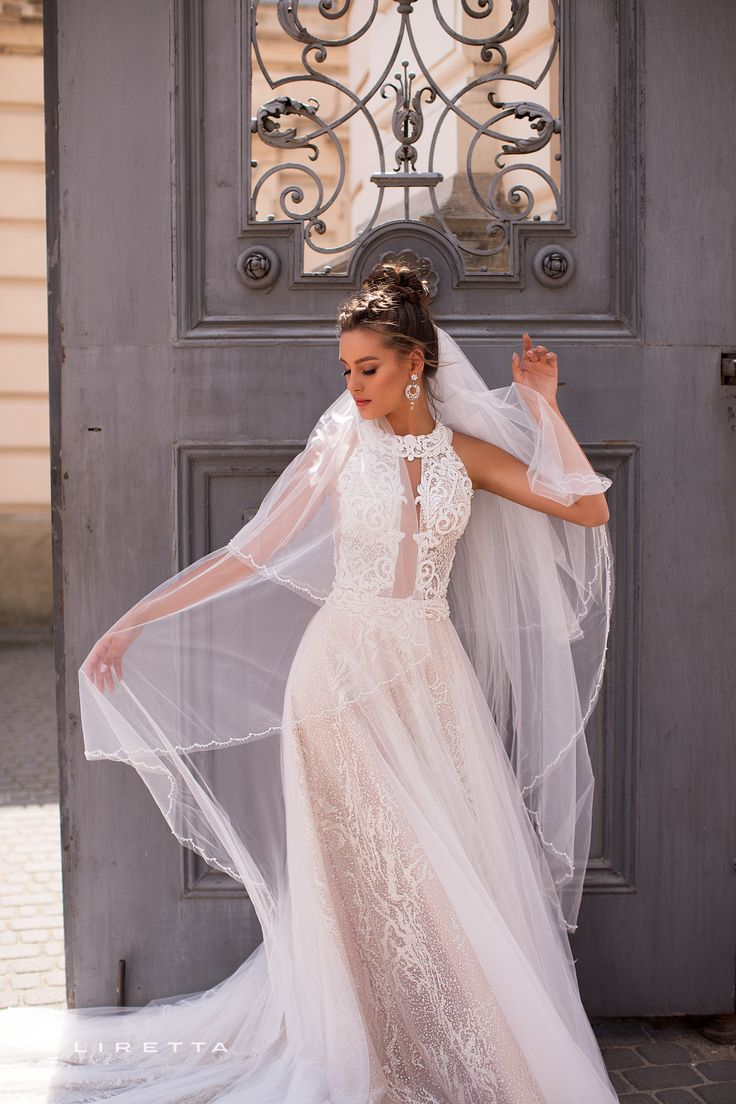 Liretta <b>Wedding Dress</b> - Сharrier | Liretta Wedding <b>Blue</b> Mountain в ...