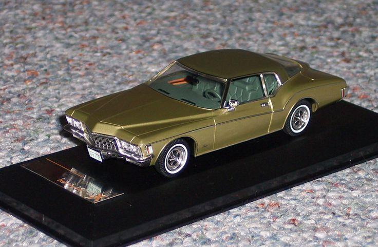 IXO PremiumX 1/43 1972 BUICK RIVIERA COUPE beige (new Die-cast) #IXO #Buick
