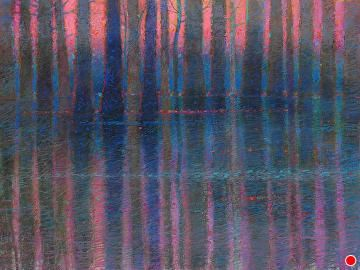 seven devils swamp by Tom Heflin Pastel ~ 19 x 26