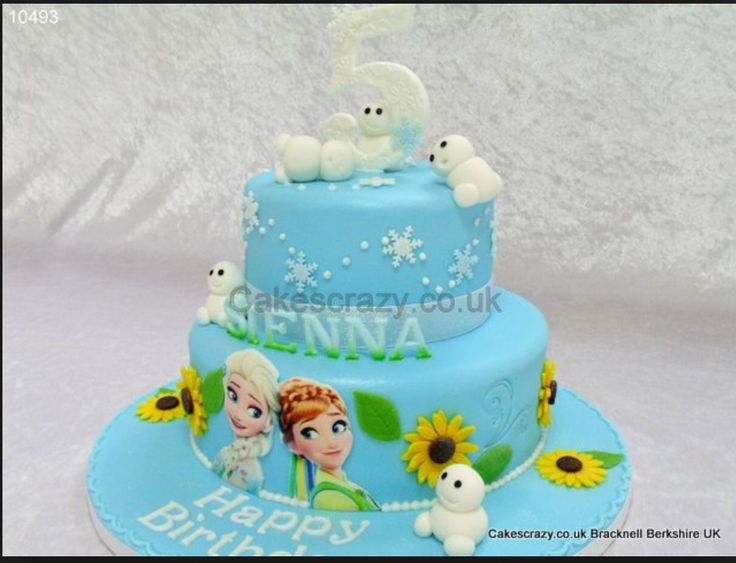 19 best FROZEN FEVER CAKES images on Pinterest Frozen birthday
