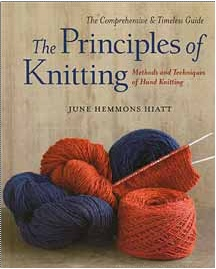 14. Summer Read: When I'm all sweaty from the sun and heat, I need to put my knitting project away and read about knitting. I never can tell where my next inspiration will come from!