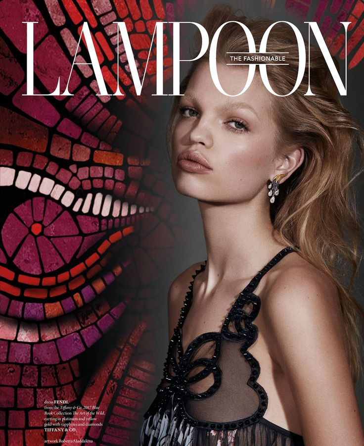 Daphne Groeneveld by Zoey Grossman for The Fashionable Lamppon, issue 9