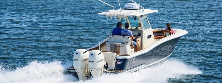 From it's Nu-V3 hull design to electric grills, Scout's 275 LXF is a luxury sport fishing boat contains market-first innovations for anglers & the family.
