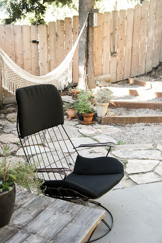 My Patio: Before + After. / Sfgirlbybay