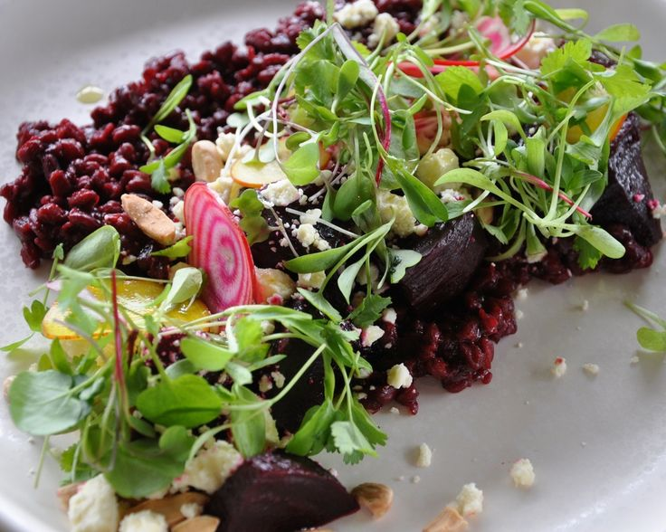Delicious beetroot & feta salad at St Heliers Bar & Bistro