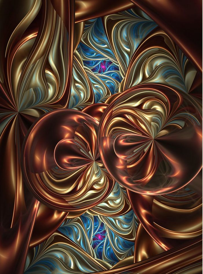 Entrancing... colors, shapes, sense of movement!