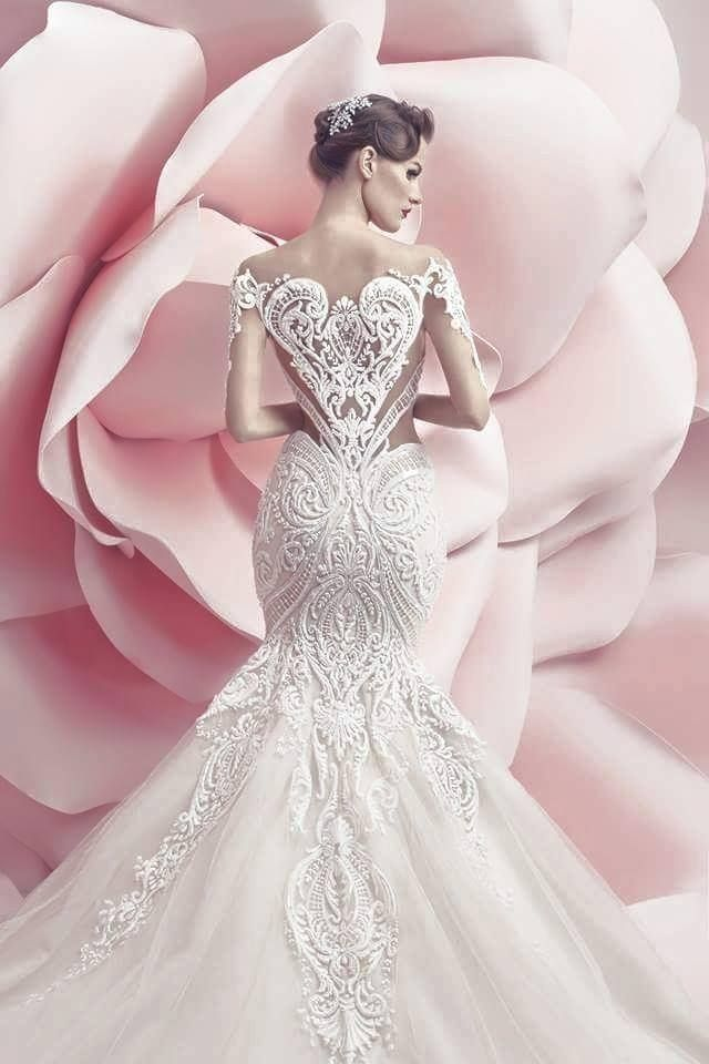 The Spring/Summer 2016 campaign for Michael Cinco's Wedding Collection is breathtaking, set against a backdrop of pink roses, the bridal gowns take centrestage #fabulous #wedding