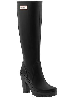 High-heeled rain boots. Is it weird that I actually really like these? ($195)