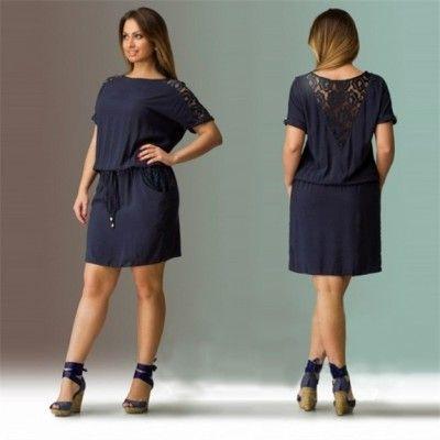 Modelos De Vestidos Para Gorditas Casuales Juveniles                                                                                                                                                                                 Más