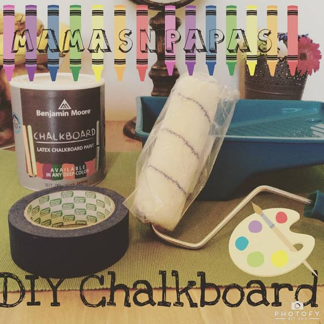 mama's 'n' papa's: Diy Chalkboard!!