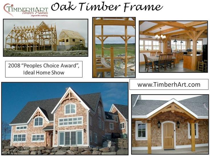Oak Timber Frame, 2008 Peoples Choice Award, Nova Scotia ...